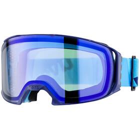 UVEX craxx OTG FM - Gafas de esquí - azul